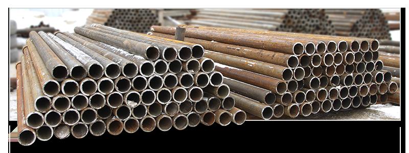 Труба НКТ 60, 73, 89мм б/у для заборных столбов, отопления, опор, металлоконструкций